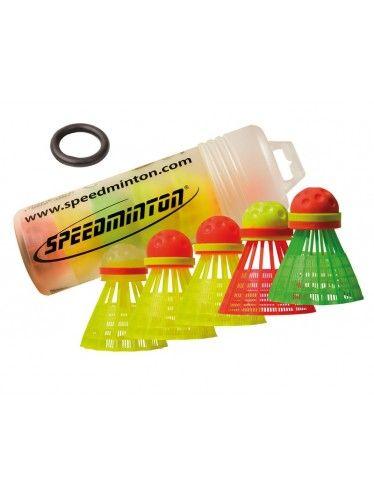 Μπαλάκια Speedminton Schildkrot 5 Τεμ | www.lightgear.gr