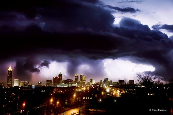 Atlanta Tornado. I so remember this I was about a half hour away when this hit