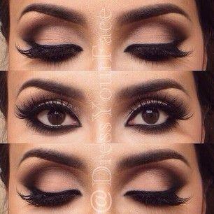 Make up fenomenal lo puedes ocupar de día o de noche según tus gustos..