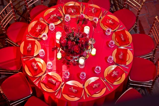 #SoniaSharmaEvents #red #tablescape