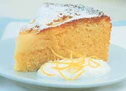 Yoghurt and Pear Syrup Cake recipe from Food in a Minute