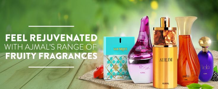 Special Range of Fruity Perfumes for Him & Her | Ajmal Perfume