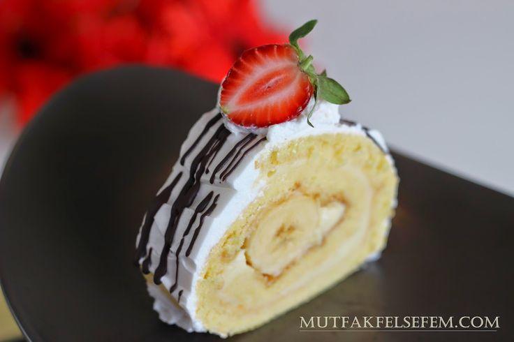 Pudingli Kolay Rulo Pasta Tarifi | MUTFAK FELSEFEM
