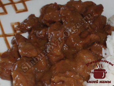 Вкусные куриные желудки, тушим с луком особым способом