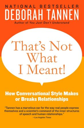 That's Not What I Meant! - Deborah Tannen - eBook