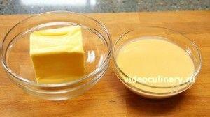 Ингредиенты Масляный крем на сгущенном молоке