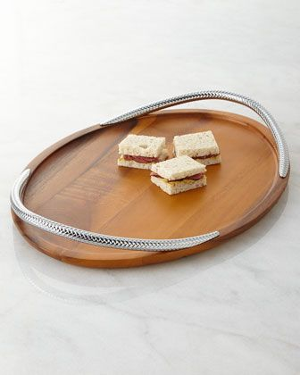 Braid Serving Tray by Nambe at Neiman Marcus. $150