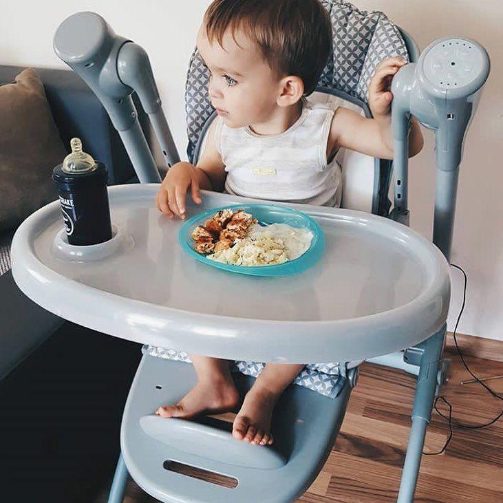 """Polubienia: 91, komentarze: 3 – Sun Baby (@sun_baby_pl) na Instagramie: """"Pamiętajcie żeby dzień zaczynać od porządnego śniadania ❤️🥖🥗🍌#sniadanie #krzeselkodokarmienia…"""""""