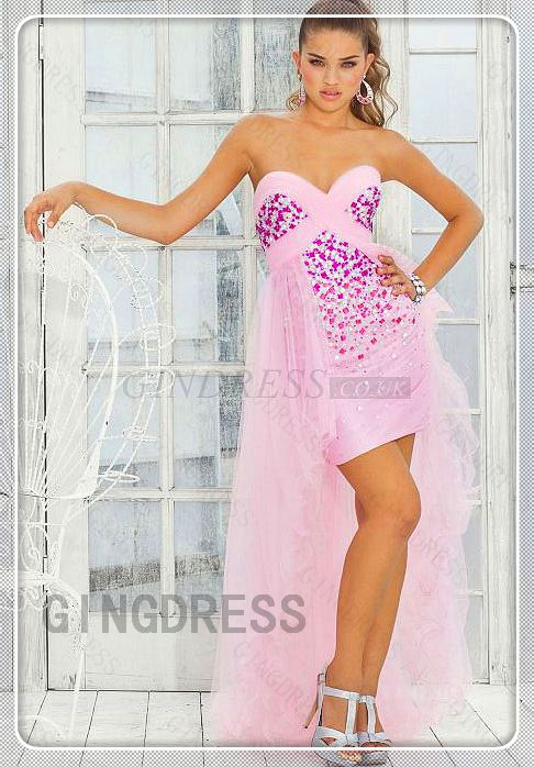 Sweetheart Criss Cross Draping Prom Dress