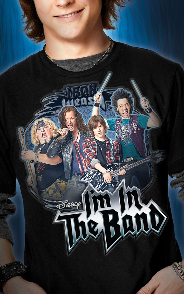 I'm in the Band | Disney XD I sure miss this show, I still want an Iron Weasel t-shirt