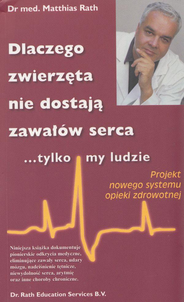 Niniejsza książka dokumentuje pionierskie odkrycia medyczne, eliminujące zawały serca, udary mózgu, nadciśnienie tętnicze, niewydolność serca, arytmię oraz inne choroby cywilizacyjne.