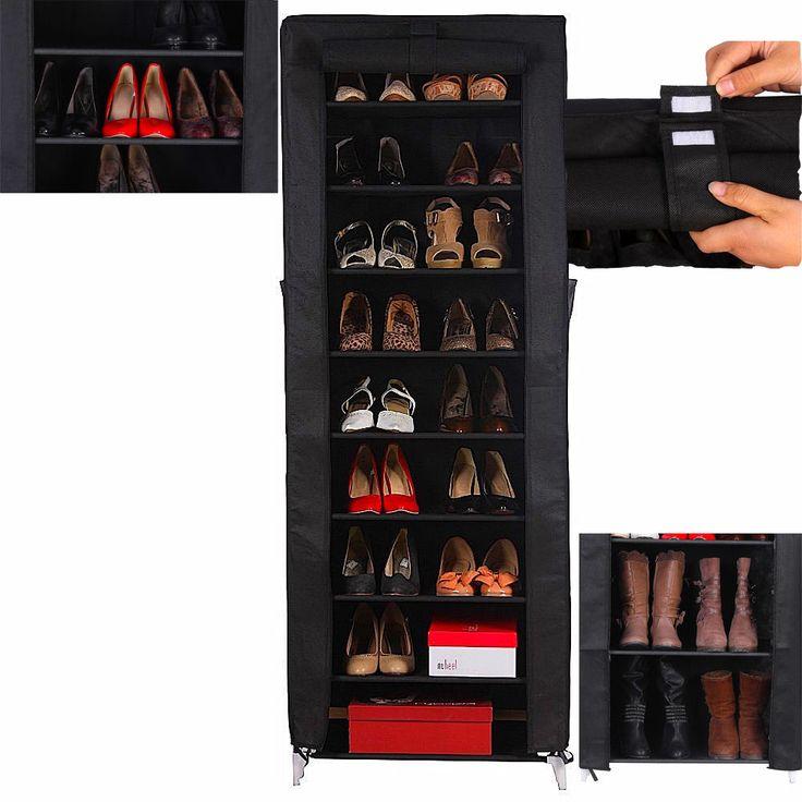 Brand New 10 Tier LARGE Shoe Rack Stand Standing Storage Organizer 58 x 28 x 160