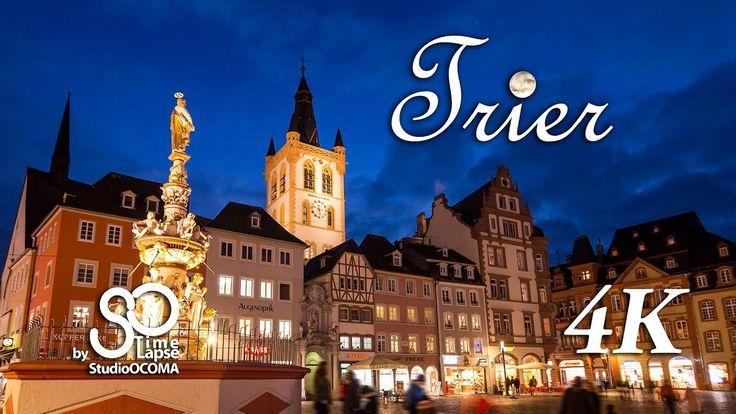 4K Timelapse & Hyperlapse of Trier, Germany