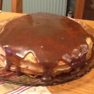 ... banana-bread-crepe-cake-with-butterscotch/ it is amazing!   Food