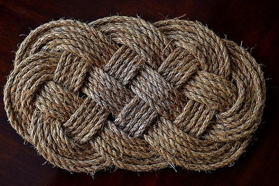 Handmade Nautical Rope Table Mat | Great beach decor | table decoration | Large dish trivet | Decorative placemats | makes a great gift