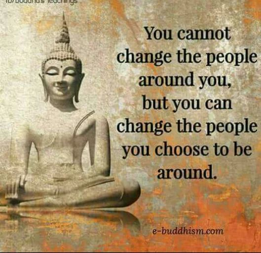 People you choose to be around