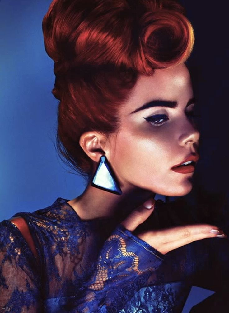 Paloma Faith(Auburn Hair Aesthetic)