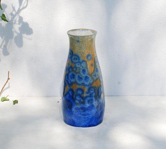 Small pottery vase crystal ceramic bottle gift for mother
