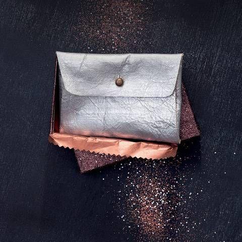 Bastelideen: Leder-Portemonnaie selber machen | BRIGITTE.de