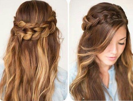 imagenes de peinados para novias