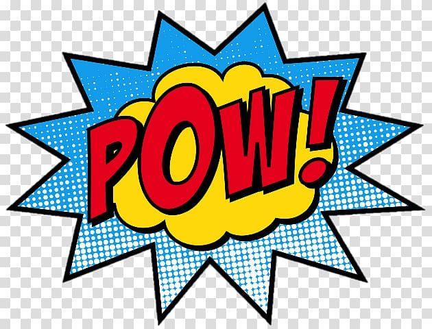 Pow Comic Book Effect Comic Book Superhero Pop Art Comics Others Transparent Background Png Clipart Pop Art Comic Superhero Pop Art Pop Art