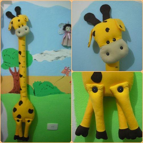 Girafa Régua de Crescimento