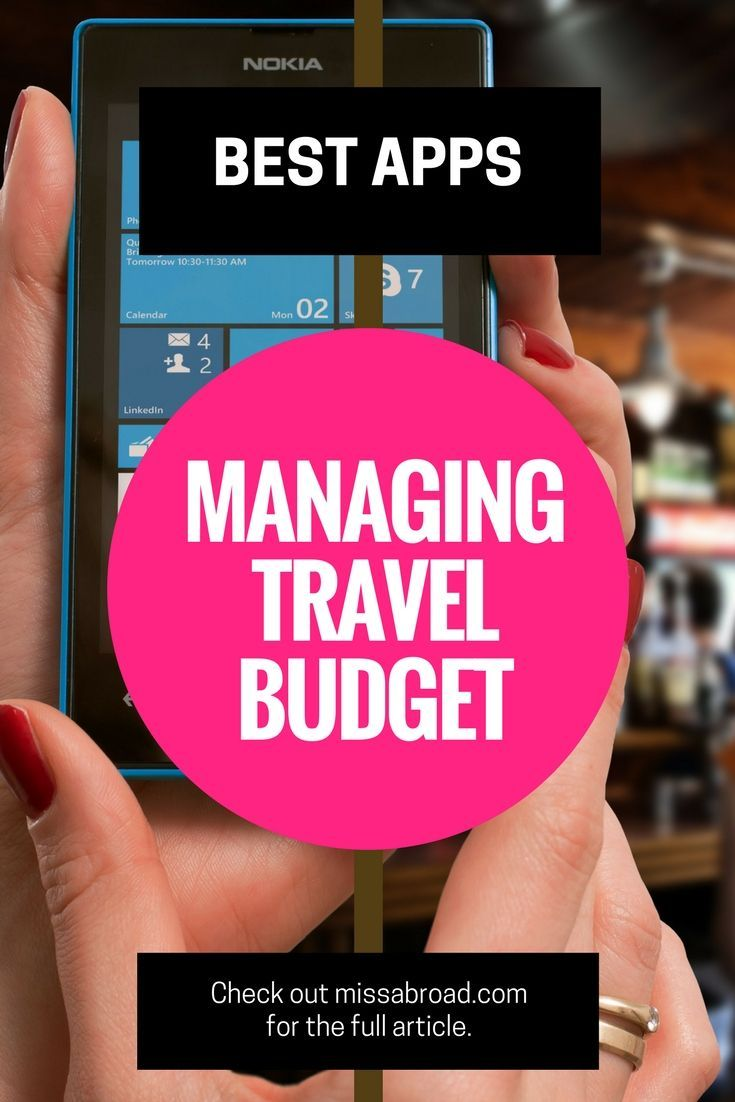Best Apps to Manage your Travel Costs I #budget