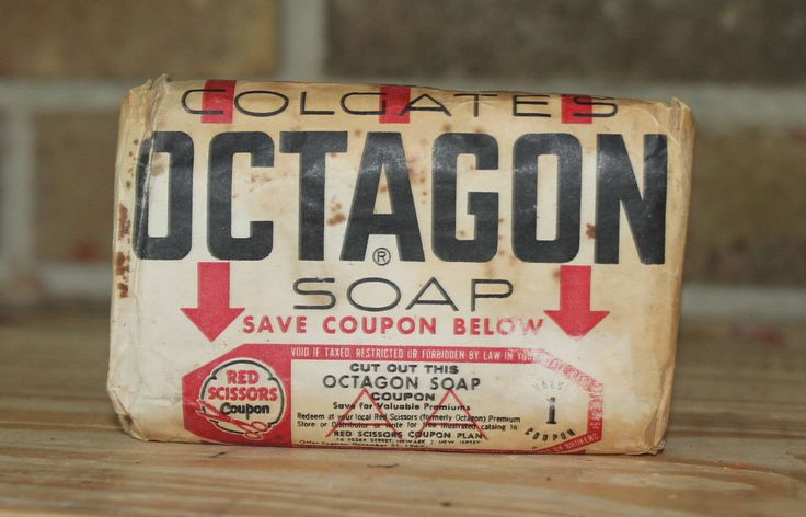 Octagon Soap Bar by LittleMossyLane on Etsy