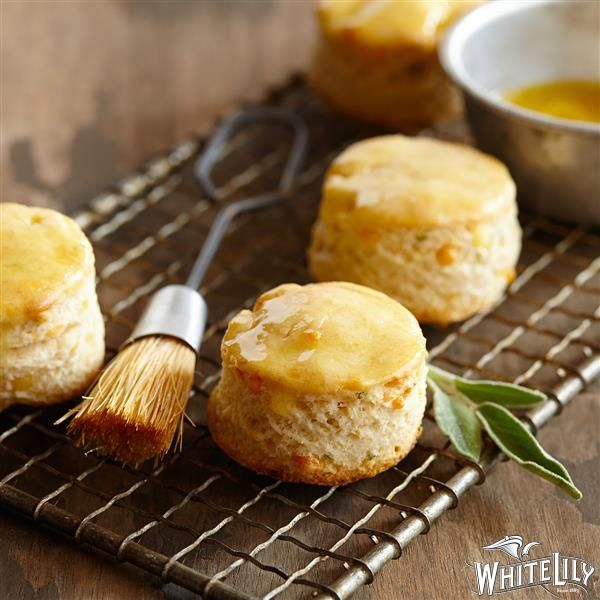 Sage & Cheddar Corn Meal Biscuits | Recipe | Biscuits, Cheddar and ...