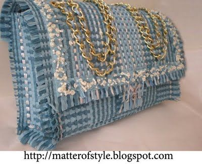 A Matter Of Style: DIY Fashion: The straw bag DIY tutorial - made from straw placemats!