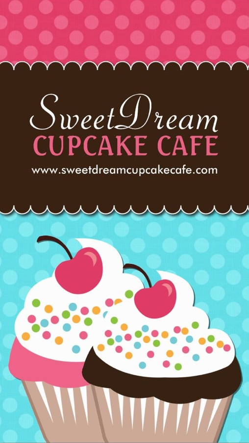 29 best business cards images on pinterest business cards customizable cupcake business card designed by colourful designs inc reheart Images