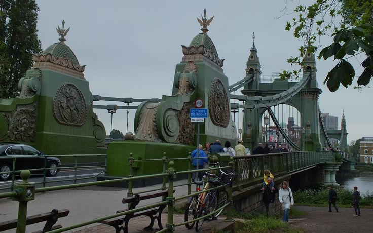 Image result for hammersmith bridge
