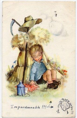 BW184 A S Lore Enfant Endormi Botte DE Paille Faux   eBay
