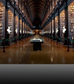City of Literature. Trinity Library, Dublin.