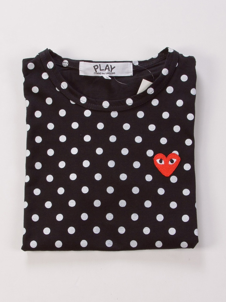 comme des garcons cdg play dots