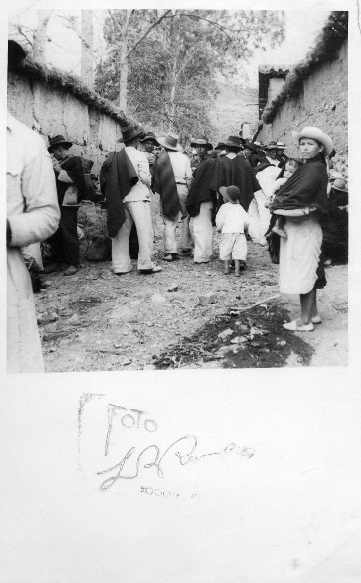 EL CALLEJÓN (DE LA SERIE DIARIO DE TIPACOQUE) Luis Benito Ramos FECHA DE CREACIÓN 1945 - 1950