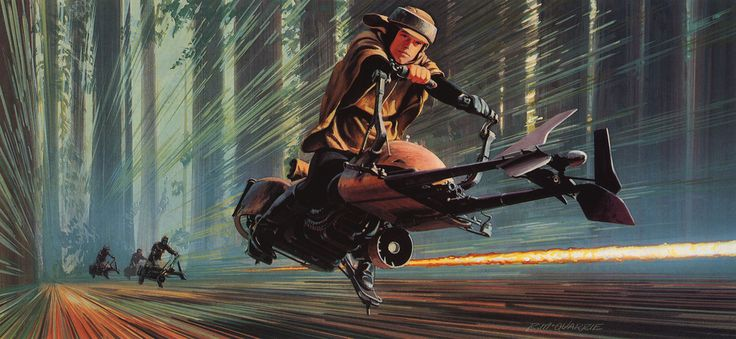 Star Wars Drawing by Ralph McQuarrie