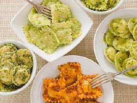 Roasted Red Pepper and Pistachio Pesto for Cheese Ravioli | FOOD ...