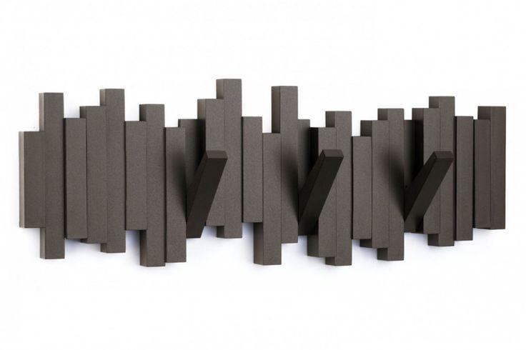 Sticks Multi Hook van Umbra. Een mooi en decoratieve kapstok voor in kleine ruimtes! #kapstok #huisdecoratie #cadeau