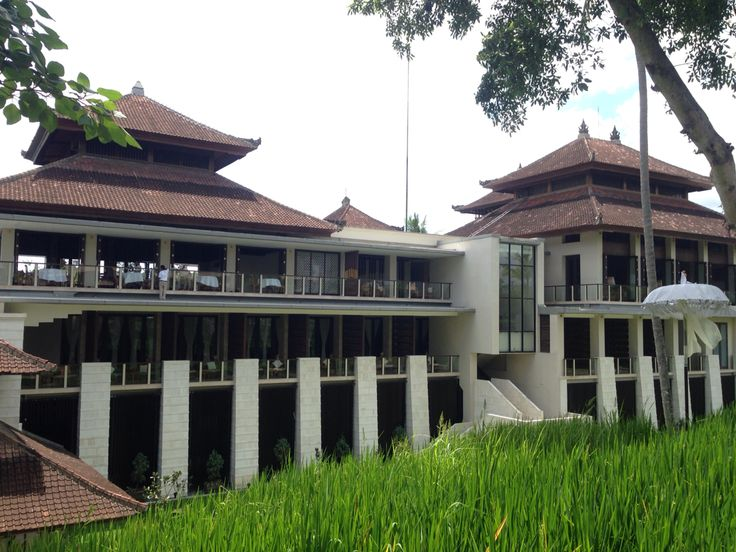 Restaurant and Lobby Building of Kamandalu Resort, Ubud