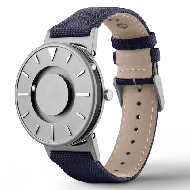 The Bradley will be available at the Dezeen Watch Store pop-up shop at designjunction 18-21 September 2014.