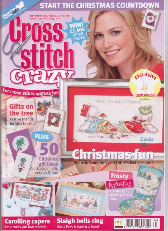 Cross Stitch Crazy 104 2007