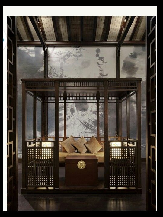 Modern Asian Interior With Natural Materials: 1000+ Ideas About Chinese Interior On Pinterest