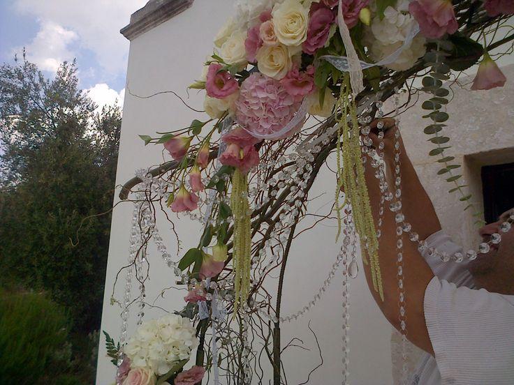 Flower bow by SposiamoVi Puglia