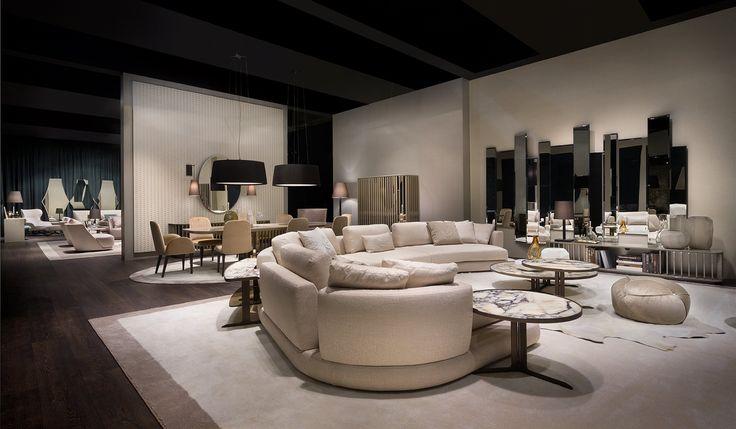 Arabesque #living... #controlucehome by @albertapf  Milano 2017, Thanks! #salonedelmobile #milano  #albertamadeinitaly #interiordesign #design #furniture