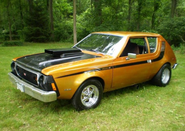 1974 AMC Gremlin, 304 2bbl/3 speed stick, with Cragar SS wheels