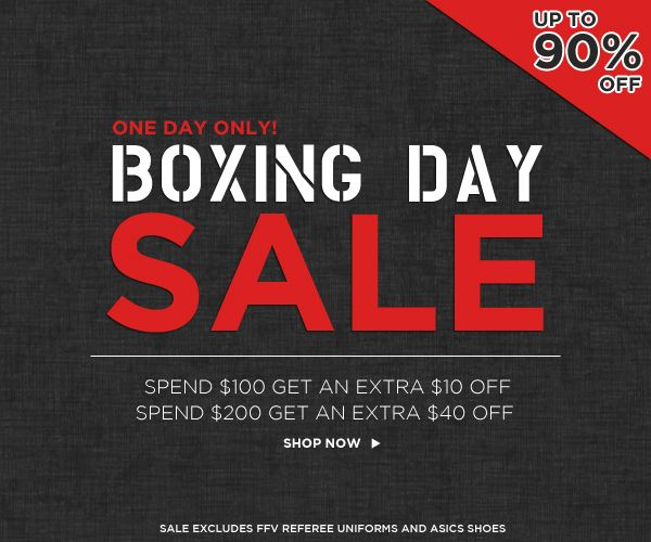 BOXING DAY SALE STARTS UP TO 90% OFF EVERYTHING......