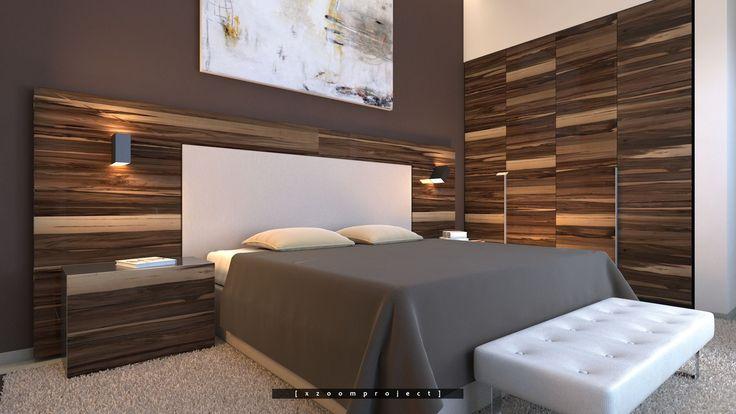 Luxury Villa Interior. Saudi Arabia. Bedroom.