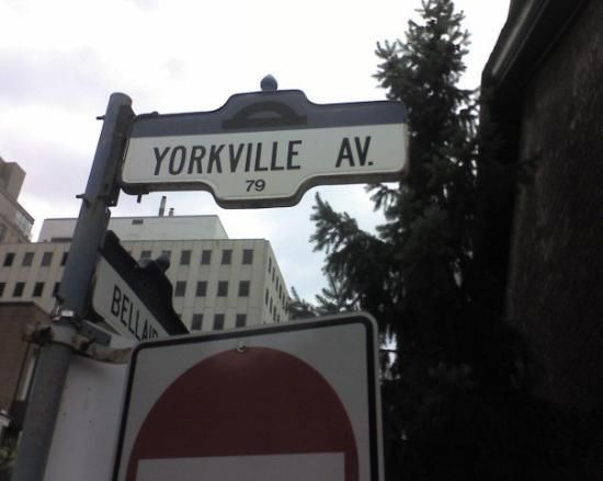 Yorkville - Toronto. One of the richest areas.