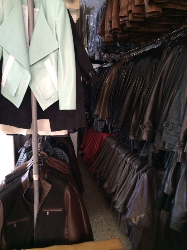The natural products: leather akçe deri